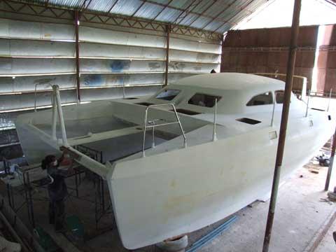 Catamaran sail plans plywood