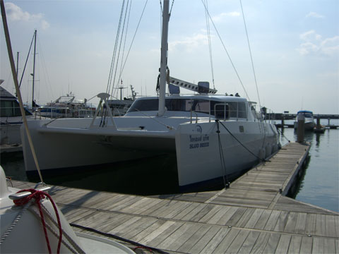 Catamaran 42' - Click me to open the gallery