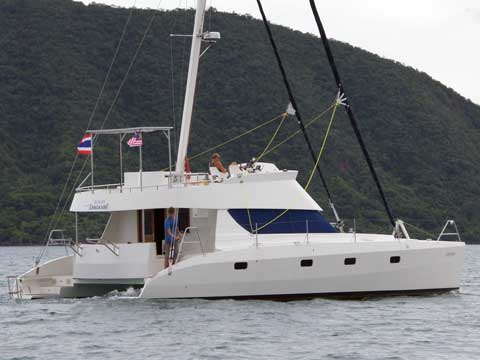 Power Sailing Catamaran KH 40' - Click me to open the gallery