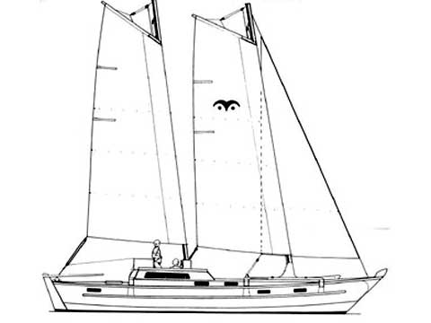 Sailing Catamaran TIKI 38' - Project.