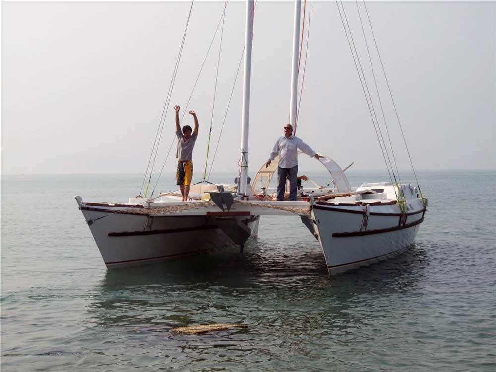 Trailerable Catamaran Plans UK US CA How To DIY Download PDF Blueprint ... Images - Frompo