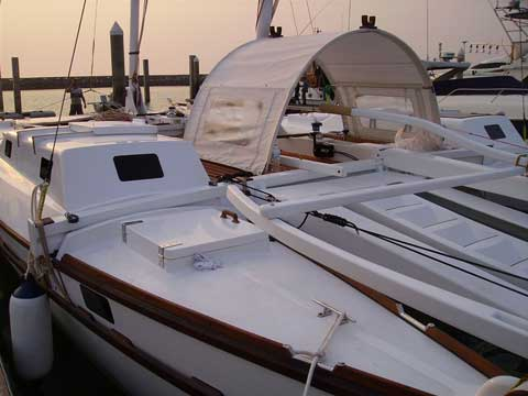 Sailing Catamaran TIKI 38' - Click to zoom.