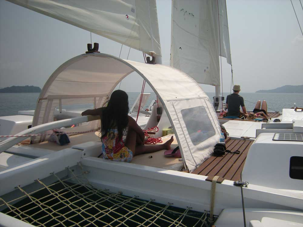 Sailing catamaran TIKI 38'