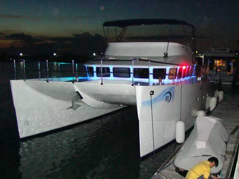 Power Catamaran RB 50' - Click me to open the gallery