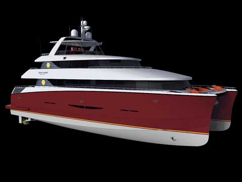 MegaByte 75' – Catamaran Motor Yacht - Click me to open the gallery