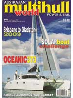 Multihull World - July/August 2009 - Click to zoom.