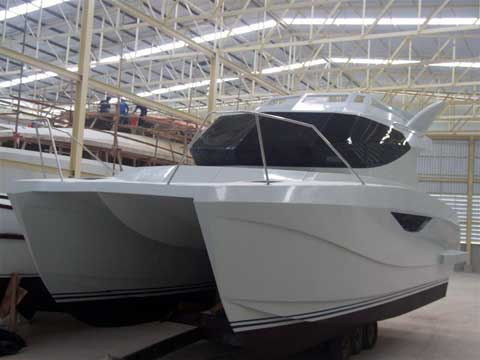 Warrior 30 Power Catamaran 9 90 Mts