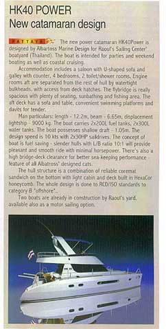 """Sea Yachting Magazine"" - September/October 2009 - Click to zoom."