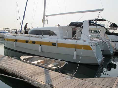 Sailing catamaran RB 45